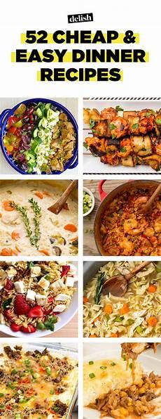 52 easy cheap recipes inexpensive food ideas delish com