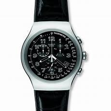 homme swatch your turn noir chronographe montre yos440