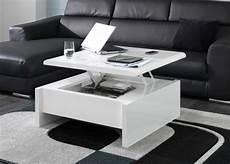 petites tables de salon innovation table de salon relevable archzine fr