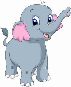 Gambar Gajah Kartun Penelusuran Kartun Gambar