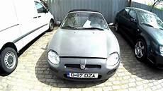 rover mgf cabrio 1 8 2000 car