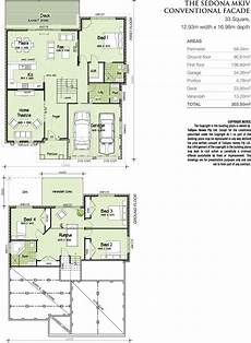 house plans for sloping blocks sedona mkiv downslope hip roof home design tullipan homes