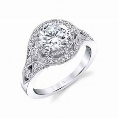 jade vintage inspired engagement ring sylvie