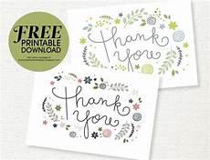 free printable thank you card she
