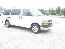 Purchase Used 2009 Chevy Express Passenger Van All Wheel