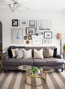 Wandgestaltung Mit Bildern - d 233 co salon gris 88 id 233 es pleines de charme
