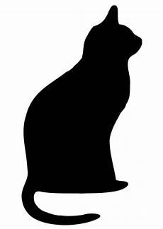Malvorlage Katze Silhouette Coloriage Chat Noir Img 19740
