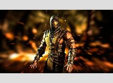 Mortal Kombat X Scorpion Wallpapers   Wallpaper Cave
