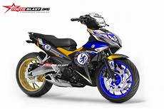 Modifikasi Yamaha Mx by Modifikasi Yamaha Mx King 150 Black Chelsea Fc