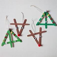 basteln f 252 r weihnachten mit eisstielen 20 deko ideen und