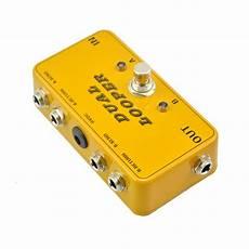 new guitar pedal new ab true bypass looper effect pedal guitar effect pedal looper switcher true bypass guitar