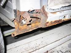 Jaguar X Type Guide To How To Check For Sill Corrosion