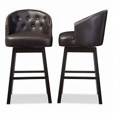 baxton studio avril modern and contemporary brown faux
