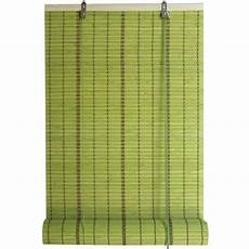 Store Enrouleur Tamisant Bambou Vert 150 X 250 Cm
