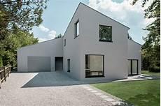 Neubau Einfamilienhaus Modern Haus Fassade Berlin