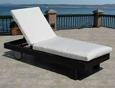outdoor patio chaise lounge replacement cushion pad choice