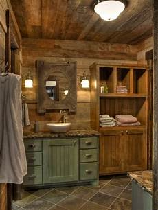 rustic bathroom design ideas remodels photos with green cabinets