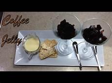 coffee jelly 2 ingredient budget fancy dessert cheekyricho