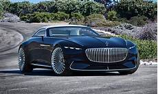 Mercedes Maybach Goes Green With Vision 6 Cabriolet