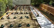 cr 233 ation d une terrasse bois reportage en coulisses 2