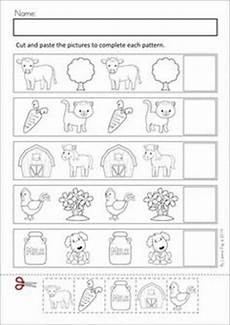 cut and paste patterns worksheets for kindergarten 309 1000 images about kindergarten math on common cores kindergarten common and