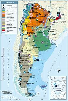 de argentina argentina maps el sur del sur