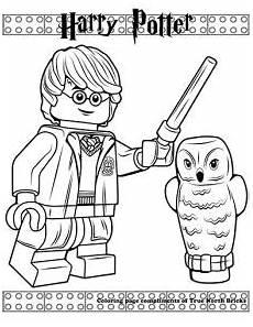 Malvorlagen Lego Harry Potter Lego Harry Potter Mit Zauberstab Coloring Harry
