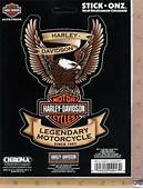 Harley Davidson Motorcycle Eagle Logo Emblem Decal Car