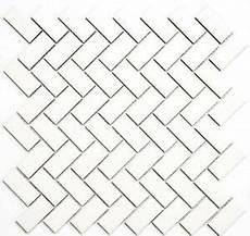 Fliesen Mosaik Küche - mosaik fliese keramik fischgr 228 t wei 223 matt k 252 che bad wc 24
