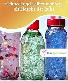 flaschenle selber machen schneekugel selber machen als flasche der ruhe lifestyle