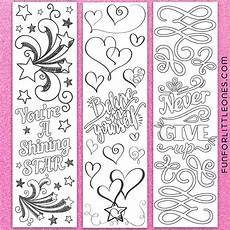 inspirational coloring bookmarks coloring