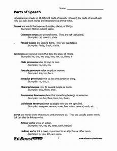 mixed parts of speech worksheets parts of speech worksheet packet edboost