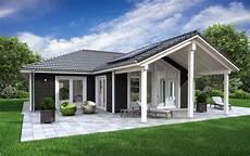 Kleiner Bungalow Fertighaus - landhaus bungalow sh 136 wb variante d1 und d2 scanhaus