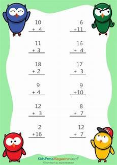 easy sums add to 20 worksheet 4 kidspressmagazine com
