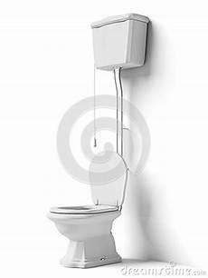 Cuvette Des Toilettes Avec Le R 233 Servoir Affleurant Photo