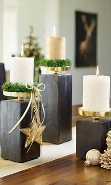 Kerzenständer Weihnachtlich Dekorieren - edle kerzenst 228 nder in gold und schwarz innenr 228 ume deko