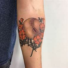 29 cool baseball tattoo designs ideas