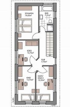 Einfamilienhaus Grundriss Schmal Obergeschoss Mit