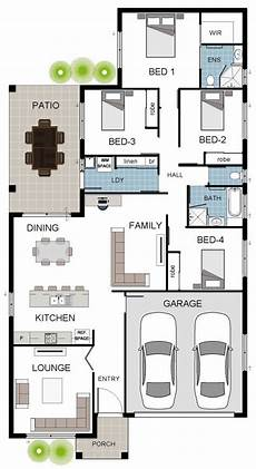 townsville builder alpha 7a coloured floor plan house