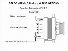 wiring the cs130 style alternator ls1tech camaro and firebird discussion