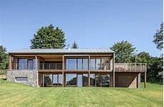 Modernes Holzhaus Mit Ausblick Modernes Holzhaus