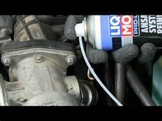 reinigung eines dieselpartikelfilters mit liqui moly