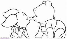 Malvorlagen Winnie Pooh Baby Baby Pooh Coloring Pages Page 2 Disney Winnie The Pooh