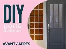 changer vitre porte d entrée diy une porte atelier a partir d une porte vitree