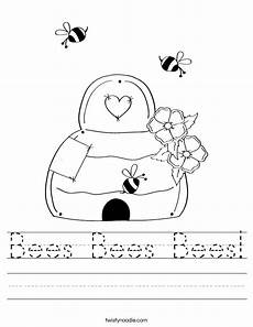 bees worksheet bees bees bees worksheet twisty noodle