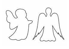 Fensterbilder Weihnachten Vorlagen Zum Ausdrucken Engel Engel Vorlage Umrisse Engel Vorlage Engelsfl 252 Gel