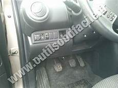 Nissan Note Fuse Box by Obd2 Connector Location In Nissan Note 2005 2012
