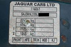 paint code sticker jaguar jaguar enthusiasts