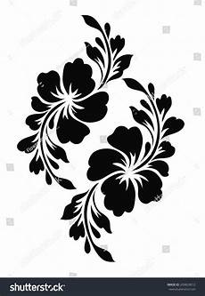 flower motif design stock vector 209824012