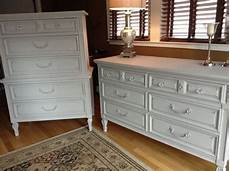 Bureau Dresser Bedroom Furniture by Soldsilver Grey Dresser And Bureau Set By Wisteriaave On